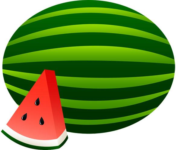 molde de melancia