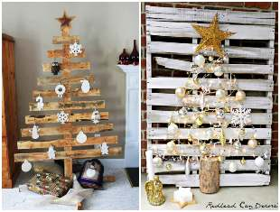 Como fazer Árvore de Natal com pallets
