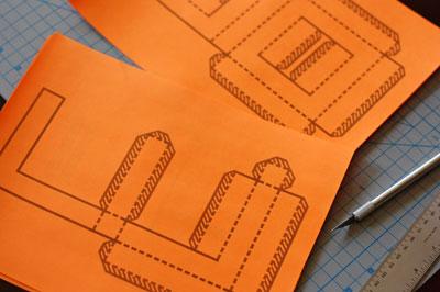 molde de letra 3d impresso