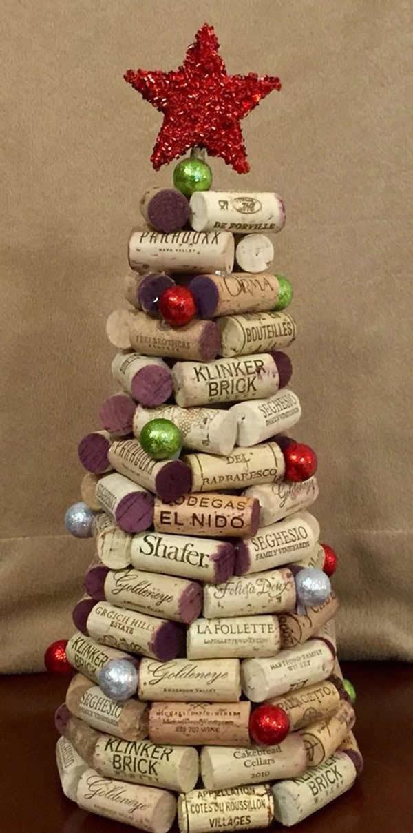 Dicas para Decoração de Natal com rolhas