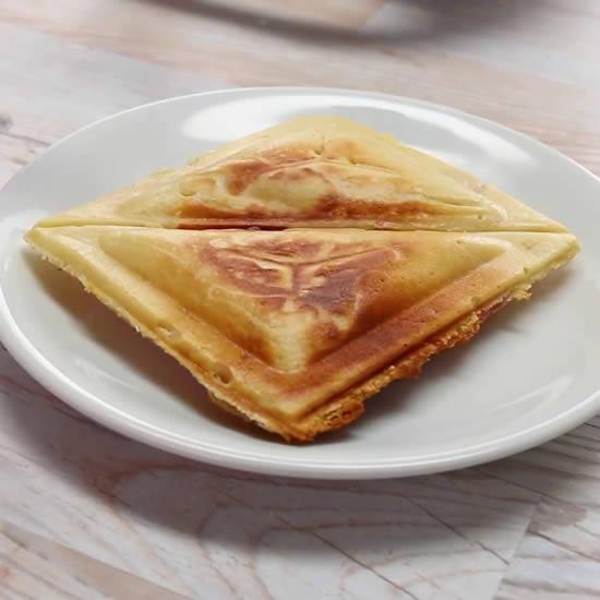 Crepe para sanduicheira - Receita