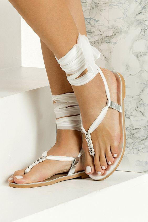 como customizar sandálias bohho chic