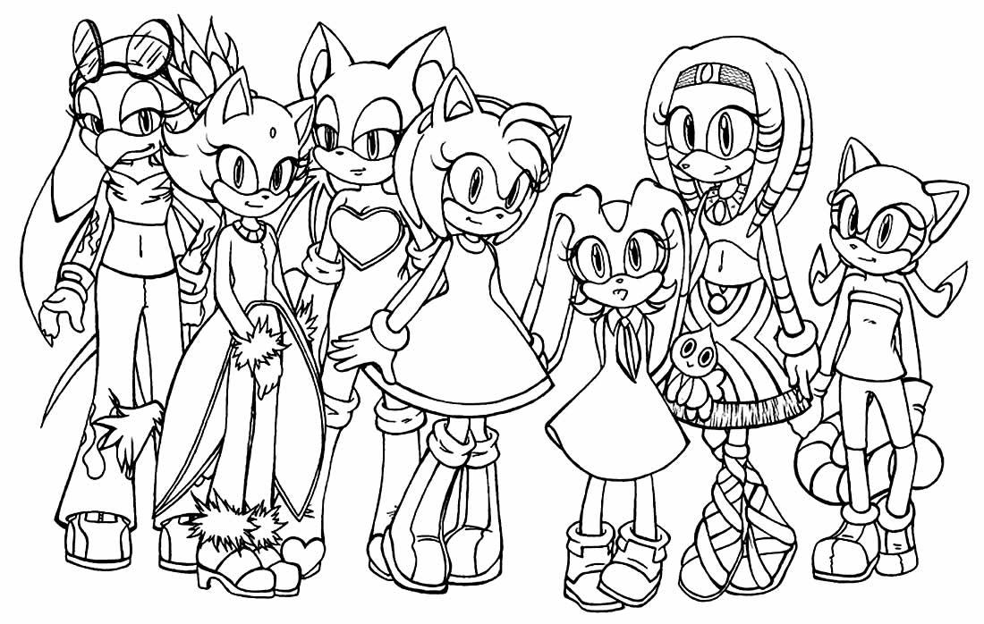 Sonic para pintar e colorir