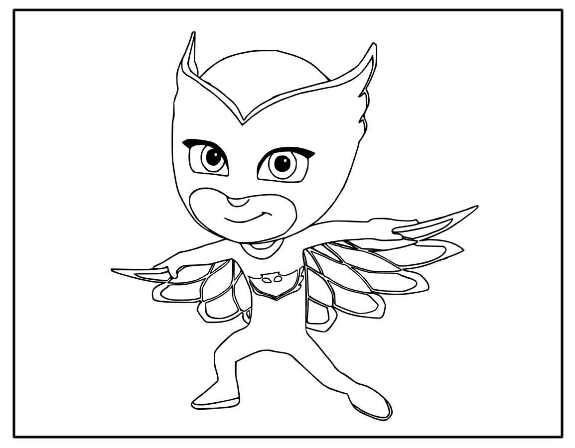 Desenhos para colorir de PJ Masks