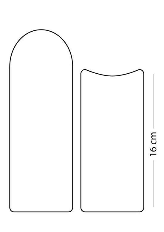 Como fazer porta oculos de feltro com molde
