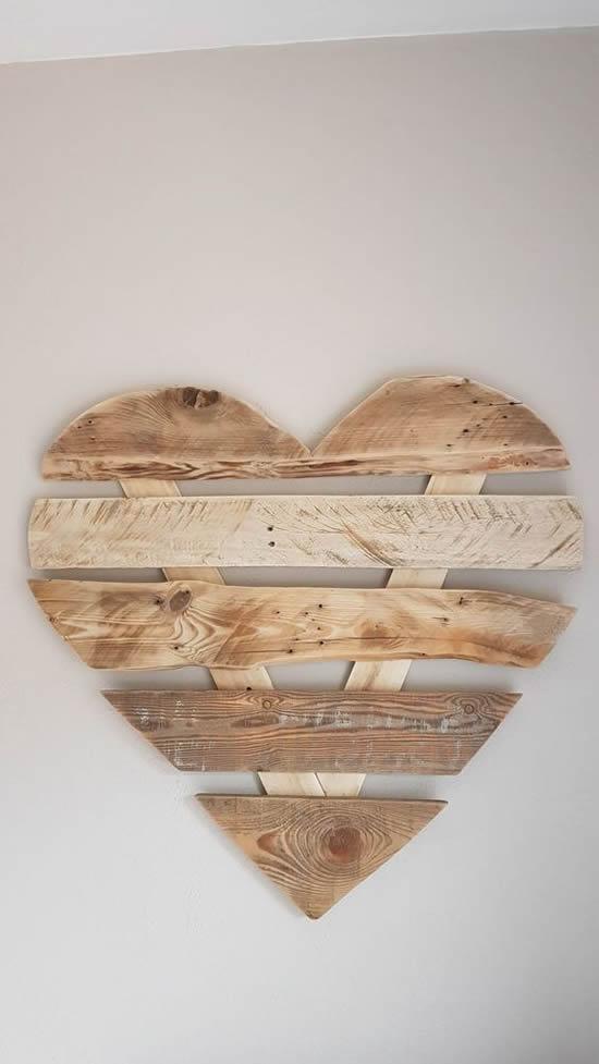 painel de coração