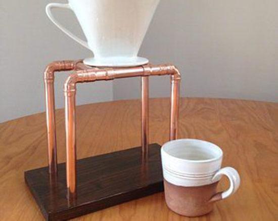 suporte coador de café