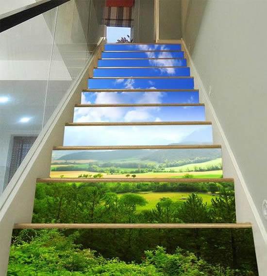 como decorar escadas 40 ideias inovadoras (13)