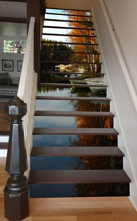 como decorar escadas 40 ideias inovadoras (17)