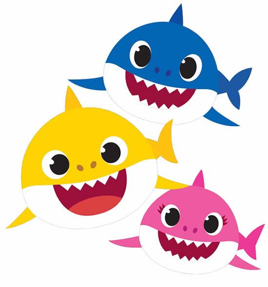 Desenho de Baby Shark