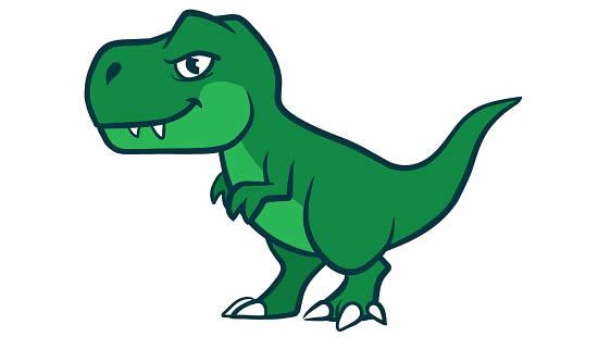Desenho de T-Rex