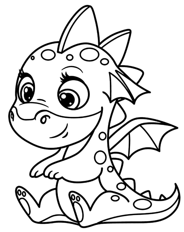 Desenho de Dragãozinho