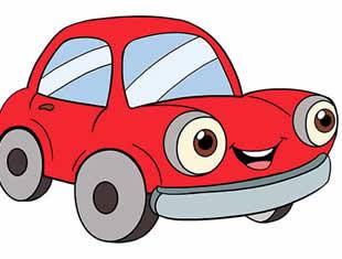 Desenhos de Carros para colorir e pintar