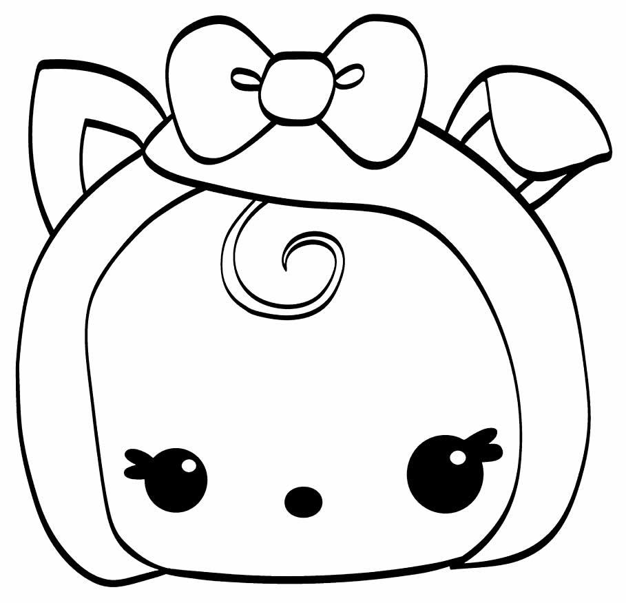 Desenho para pintar de Kawaii