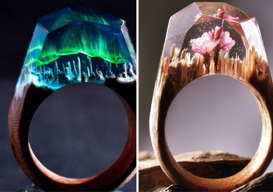 anel de resina como fazer