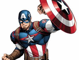 Desenho do Capitão América