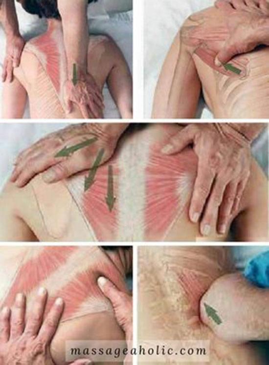 discas de massoterapia massagem nas costas