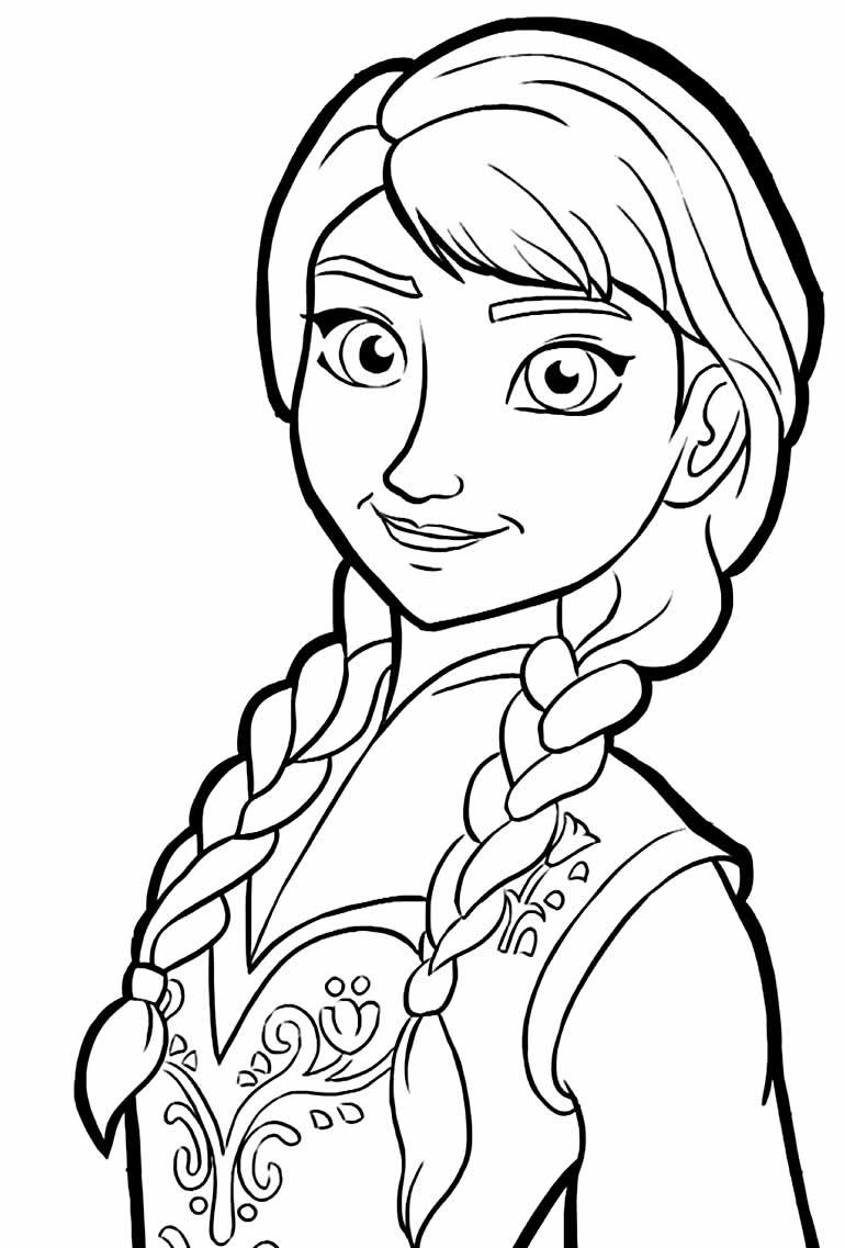 Imagem de Frozen para colorir