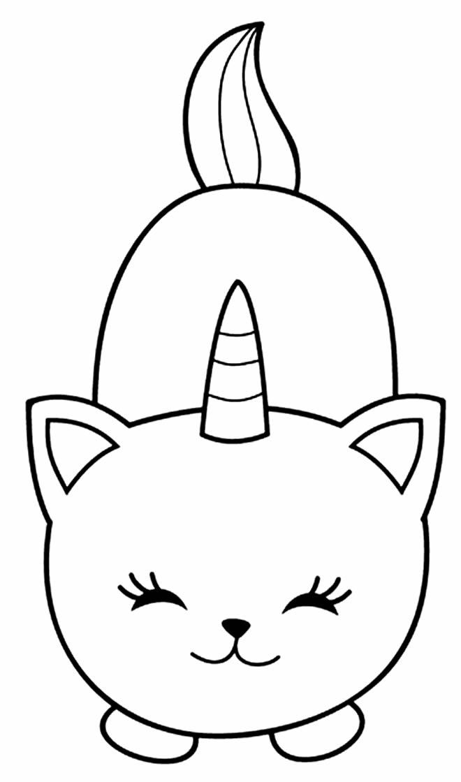 Imagem de gatinho para pintar