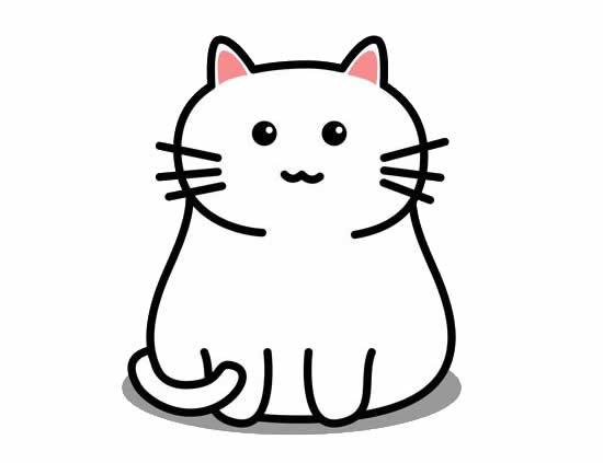 Desenho de gatinho