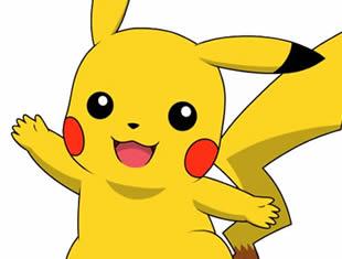 Desenho para colorir de Pikachu