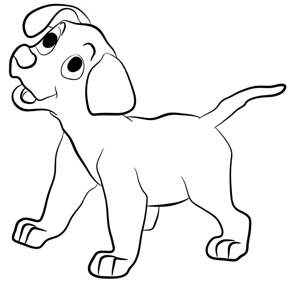 Desenho de cachorrinho para colorir