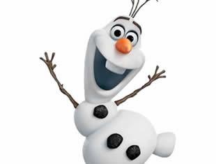 Desenho lindo de Olaf para colorir