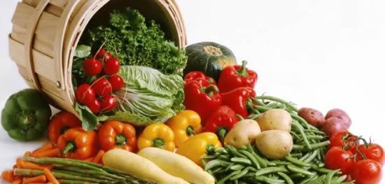 feira de legumes