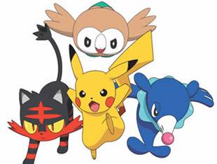 Desenho de Pokémons