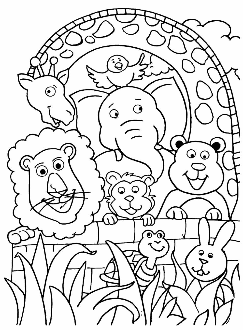 Desenhos para colorir de Bichinhos