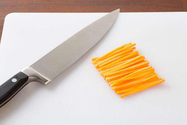15 cortes da culinária cortes de verdura