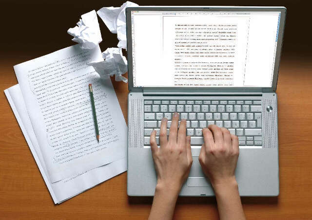 escrevendo texto academico