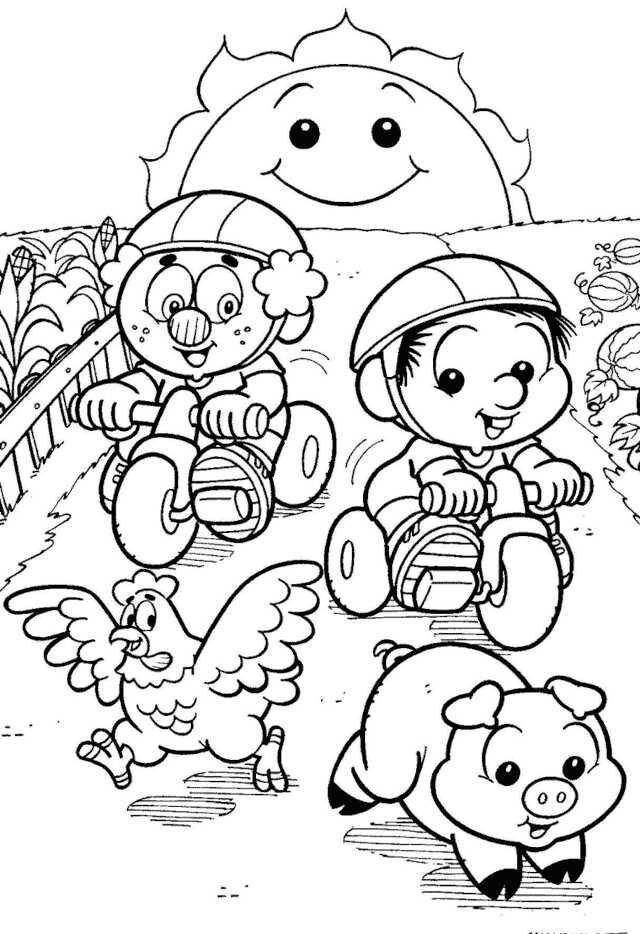 desenhos do chico bento