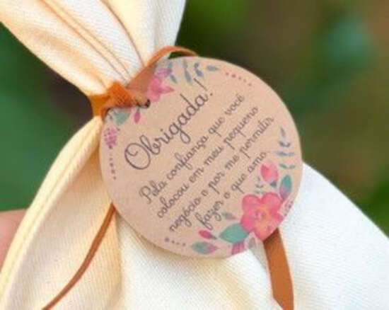 Etiquetas para artesanato