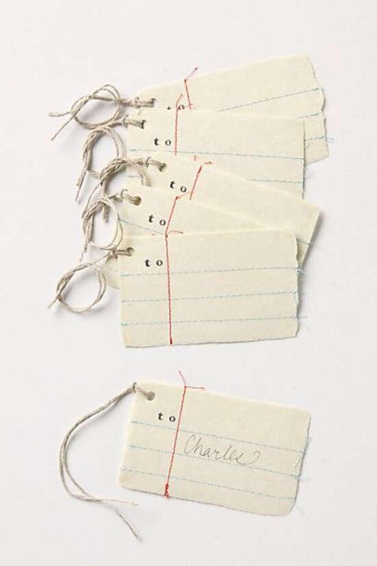 tag de papel