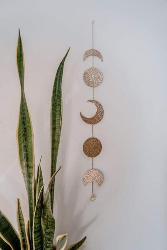decoração com luas