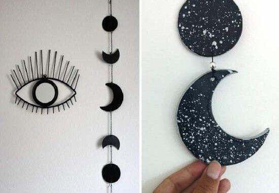 mobile de fases da lua