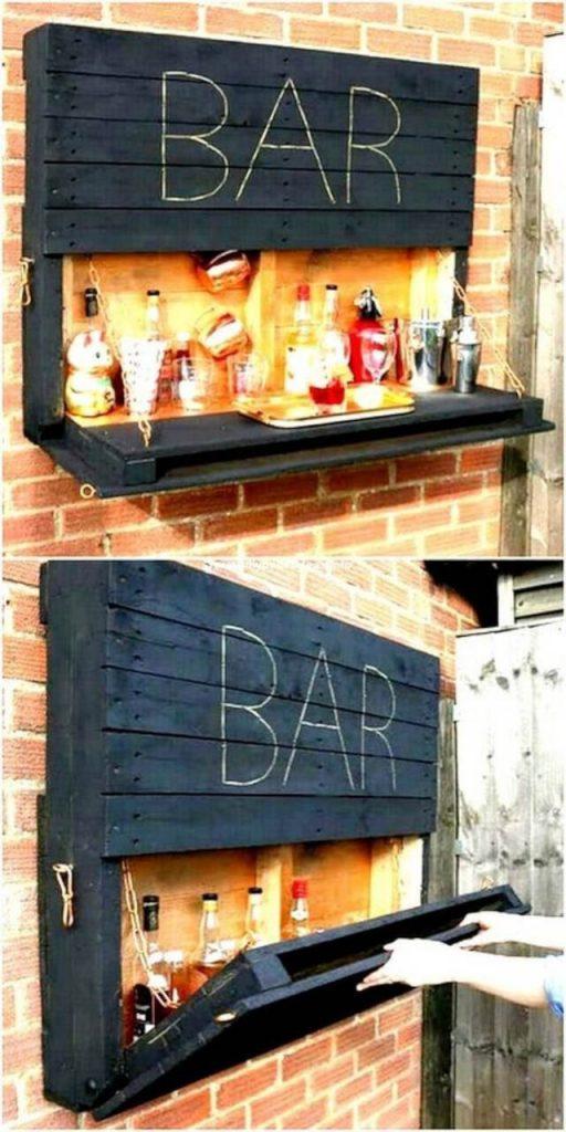 bar em pallets