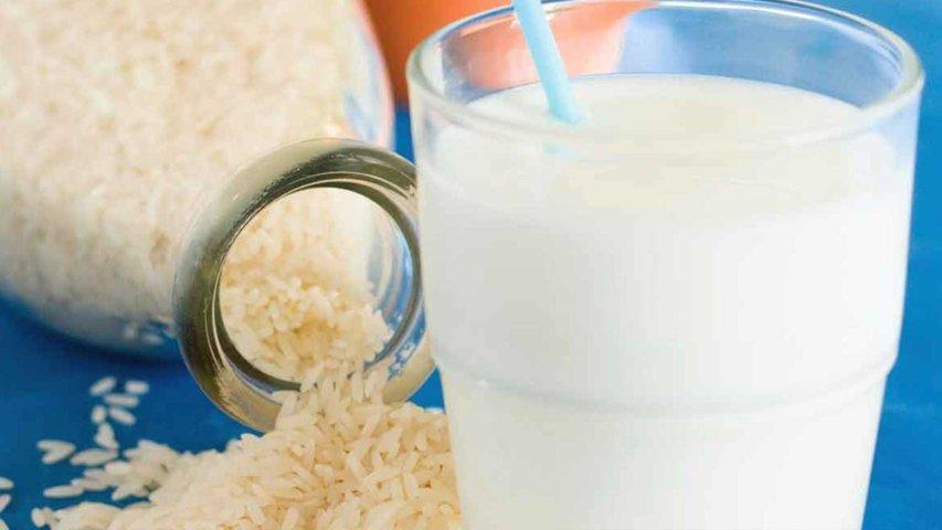 como fazer leite de arroz caseiro