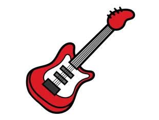 Desenho de guitarra