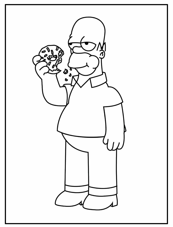 Desenhos dos Simpsons