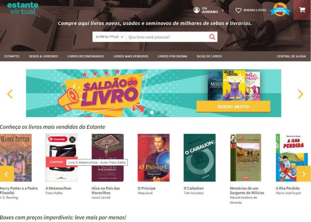 estante-virtual onde comprar livro barato