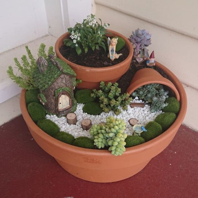 mini vasos decorados