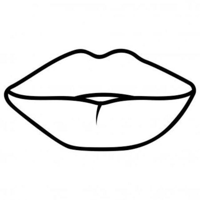 moldes de beijo e lábios