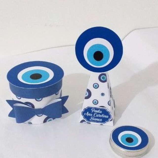 lembrancinha tema olho grego