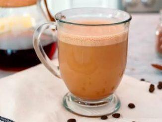 café com óleo de coco