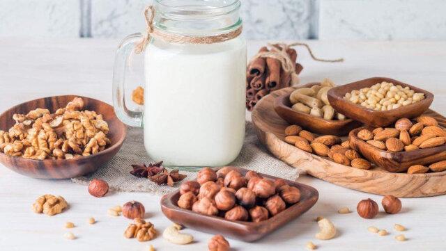 como fazer leite de nozes leite vegetal