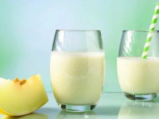 como fazer leite de semente de melão
