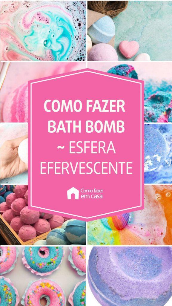 COMO FAZER BATH BOMB