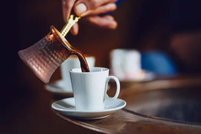 como fazer café turco
